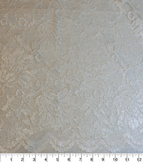 Casa Collection™ Stretch Lace Fabric 54\u0022-Snow White