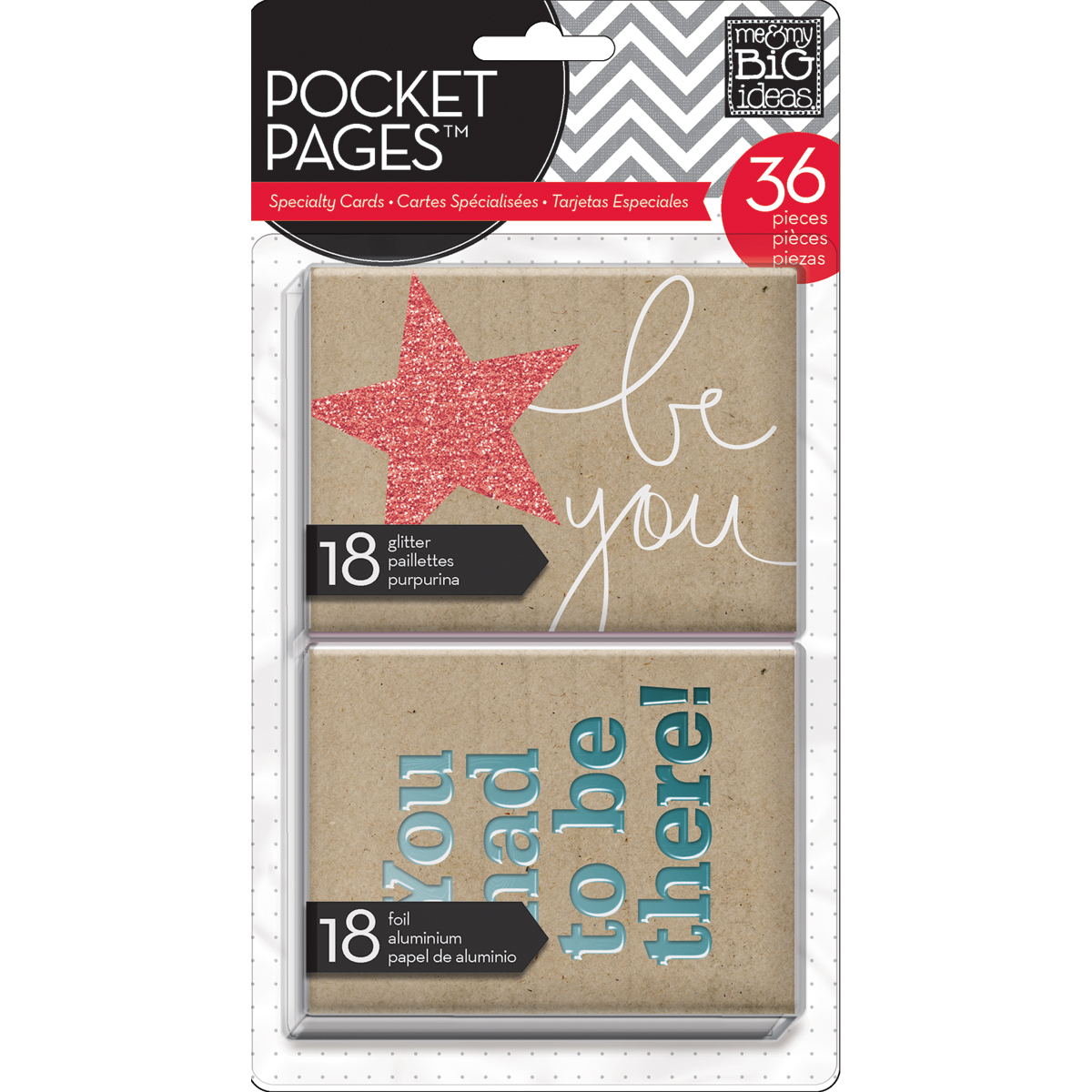 Me&My Big Ideas This Is My Life Pocket Pages Specialty Cards 3\u0022x4\u0022