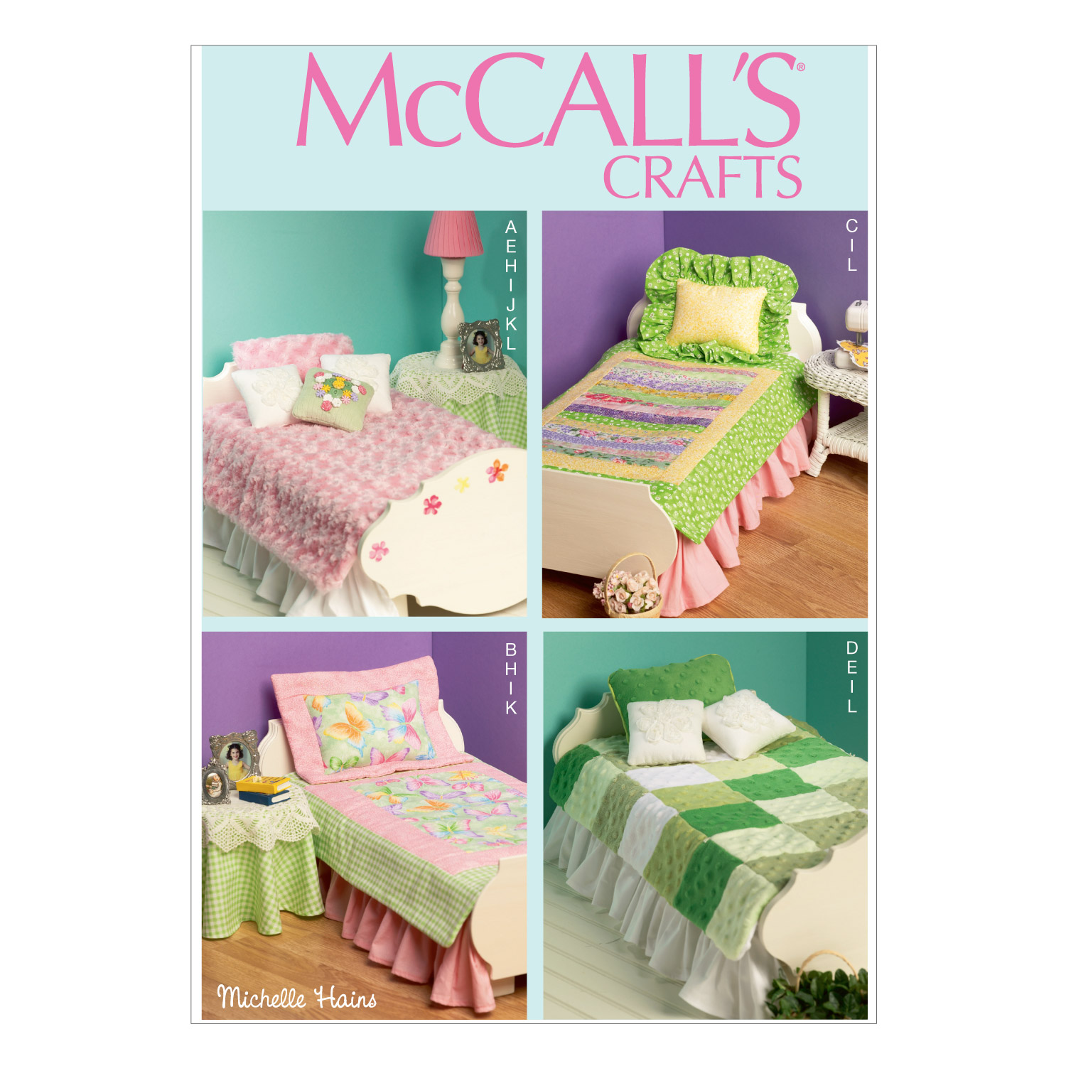 McCall\u0027s Crafts Doll Clothes-M6718