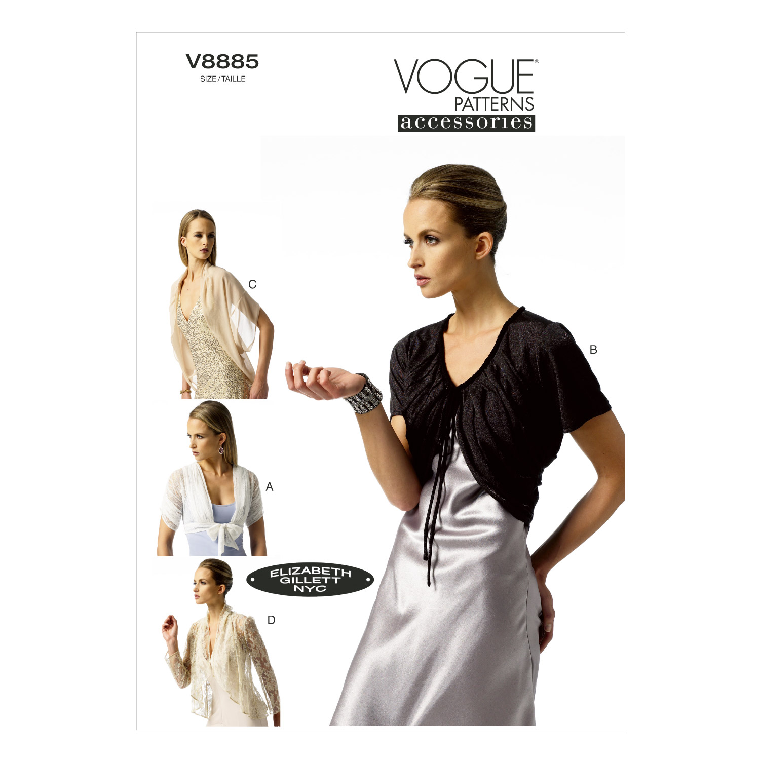 Vogue Patterns Misses Jacket-V8885