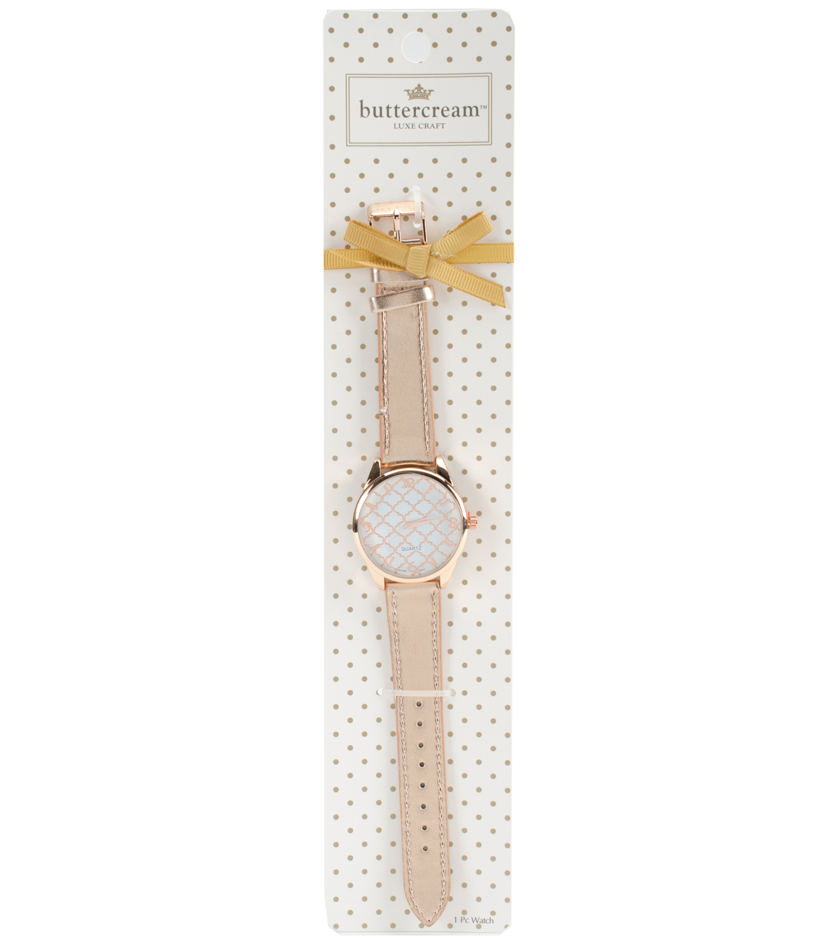 Buttercream™ Collection Rose Metallic Strap Watch