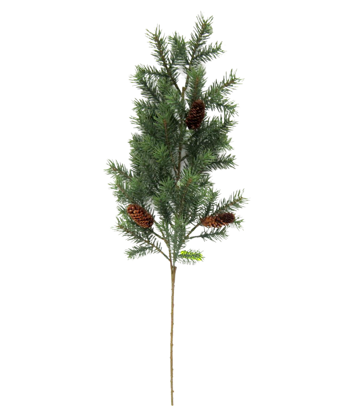 Blooming Holiday Angel Pine Spray With Pinecones