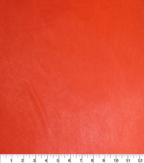 Nicole Miller Fabric-Reversible Poly Spandex Knit Red Orange