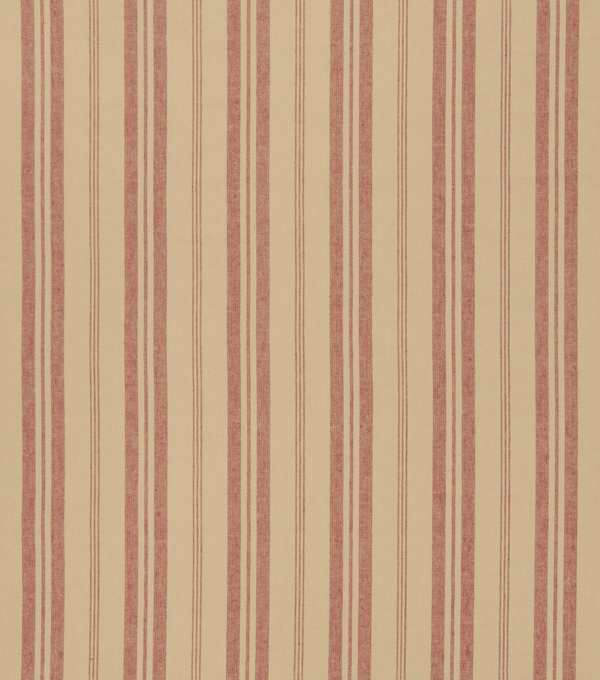 "French General Upholstery Fabric 54""-Bountiful/Rural Red"