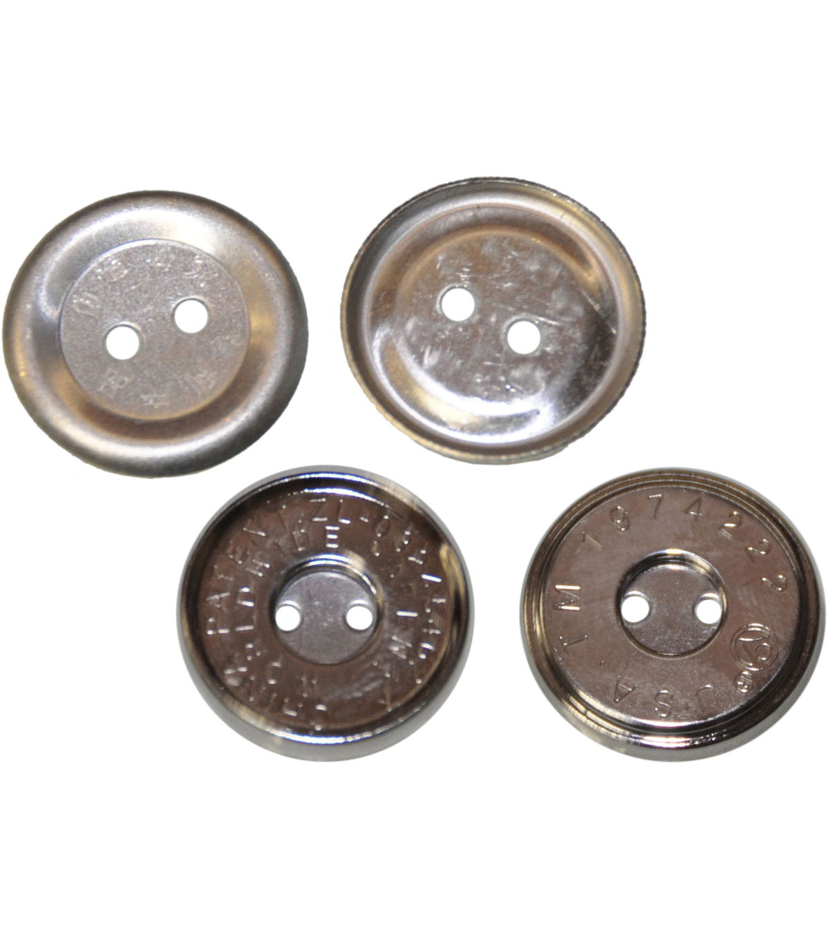 Lacis 14 mm Sew-On Magnet Closure-1PK/Silver