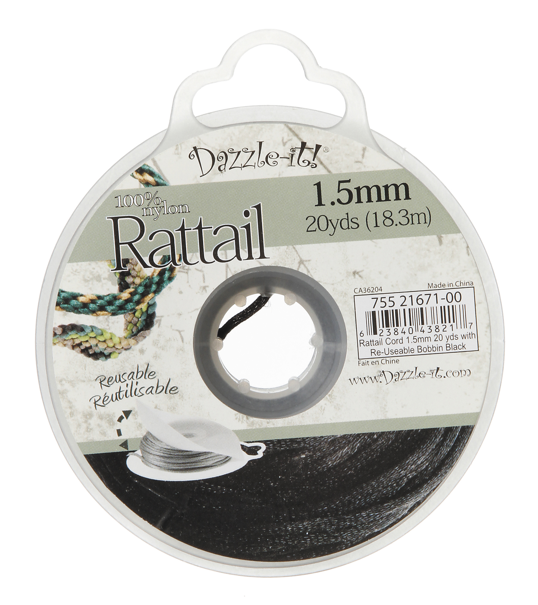 Rattail Cord 1.5mm