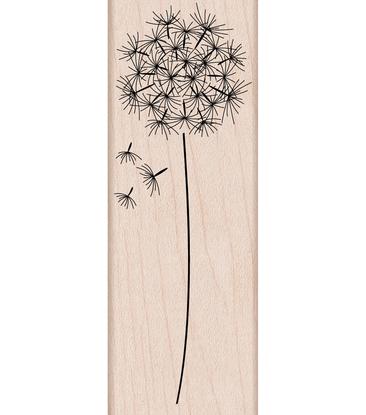 Hero Arts Mounted Rubber Stamps-Dandelion