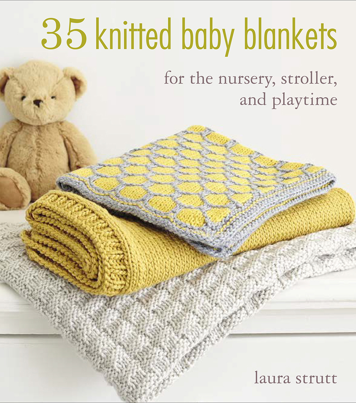 35 Knitted Baby Blankets Book