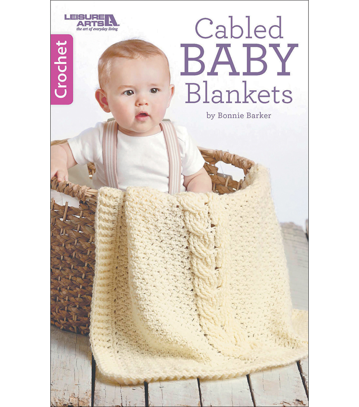 Book-Cabled Baby Blankets