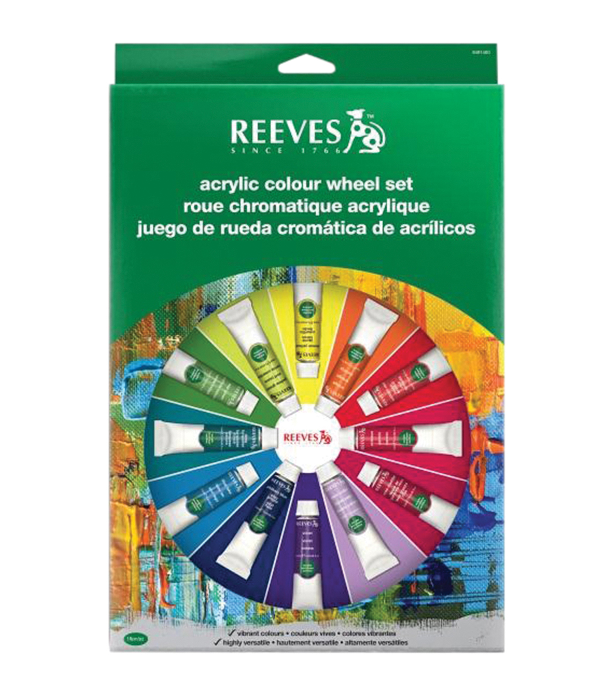 Reeves® Acrylic Colour Wheel Set