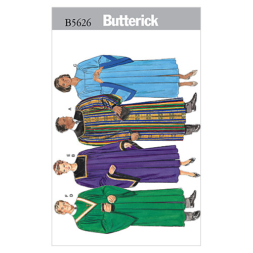 Butterick Adult Costumes-B5626