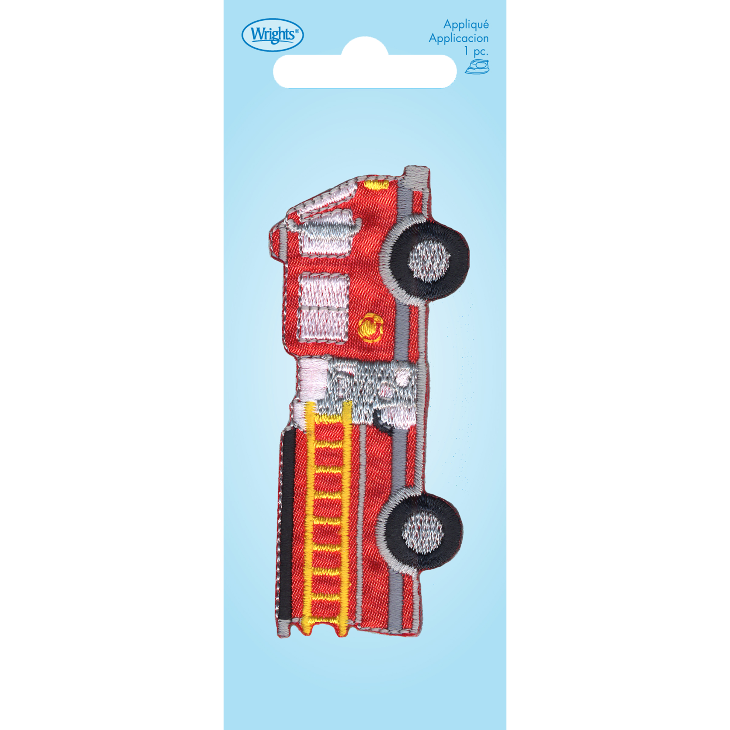 Large Fire Truck Iron On