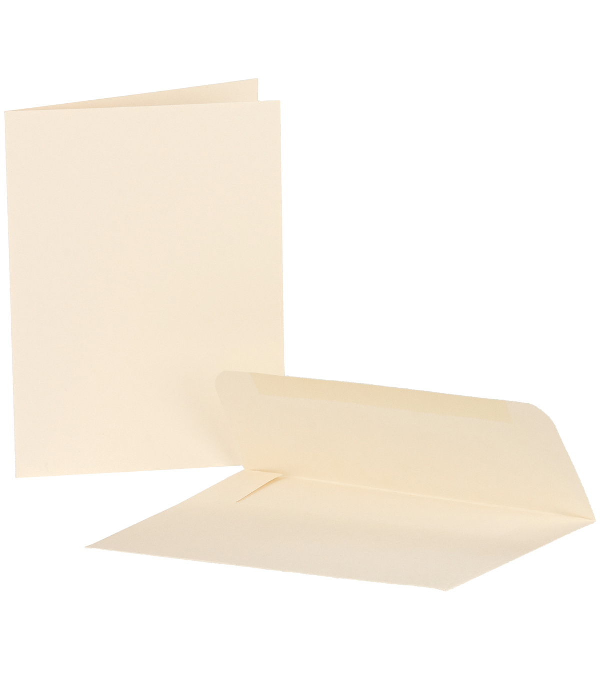 Canvas Corp Ivory 25Pk Cards & Envelopes 4X5.5 in
