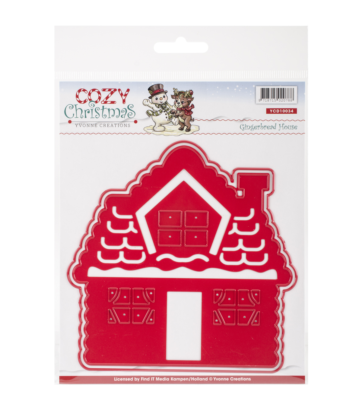 Yvonne Creations Cozy Christmas Die-Gingerbread House