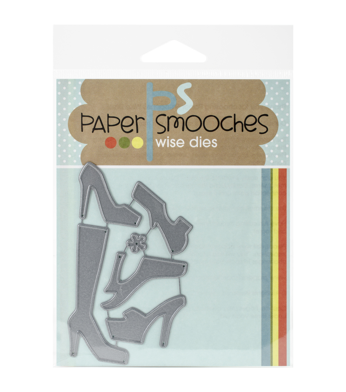 Shoes -paper Smooches Die