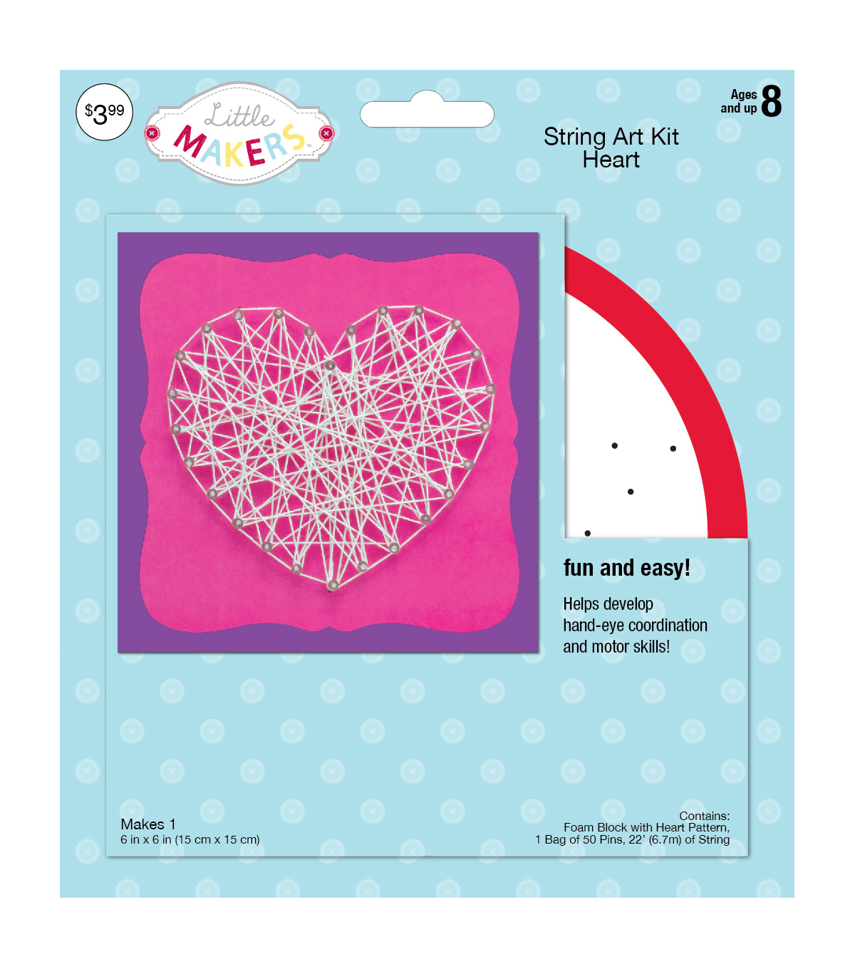 Little Makers™ String Art Kit- Heart