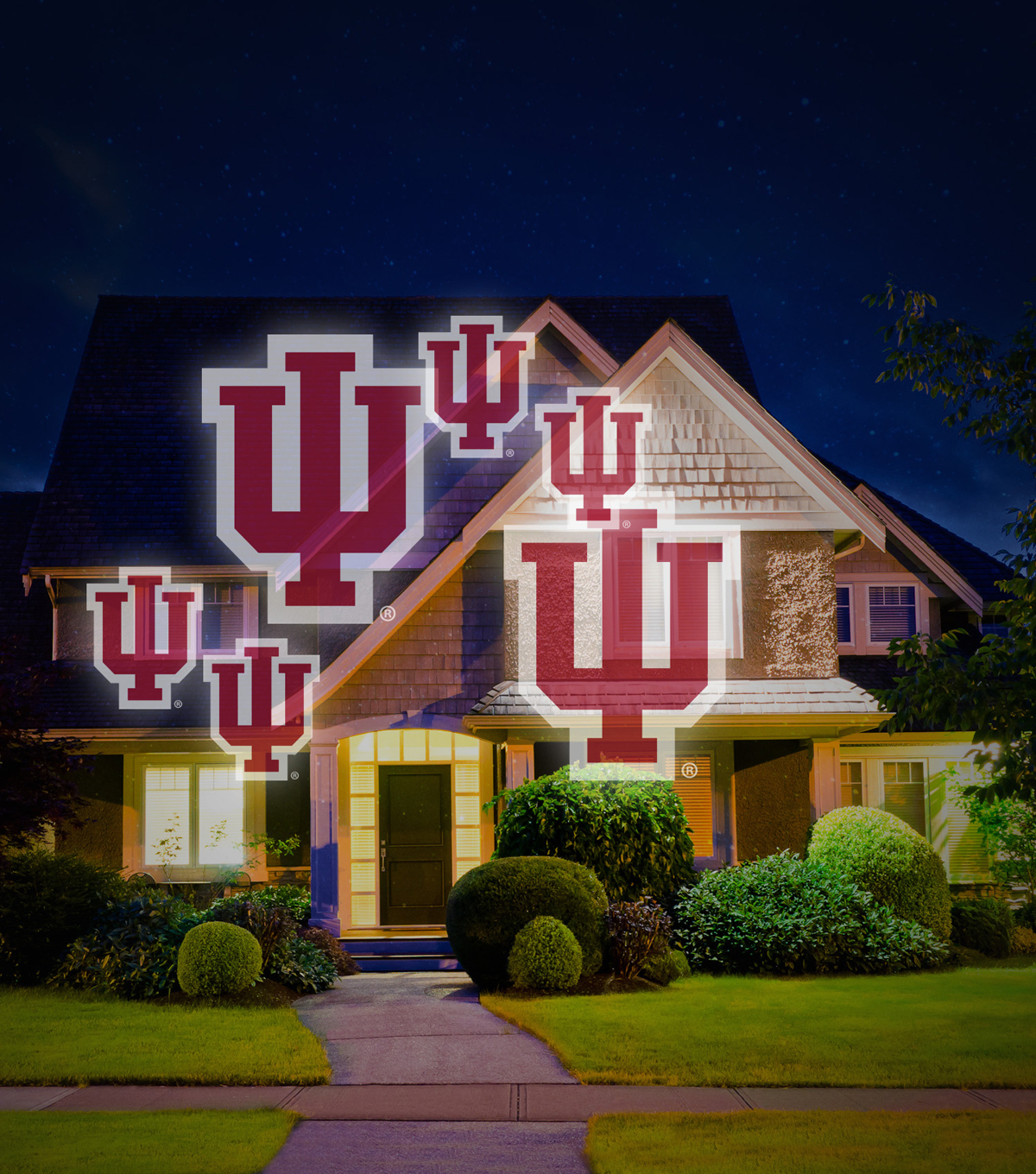 University of Indiana Hoosiers Team Pride Light
