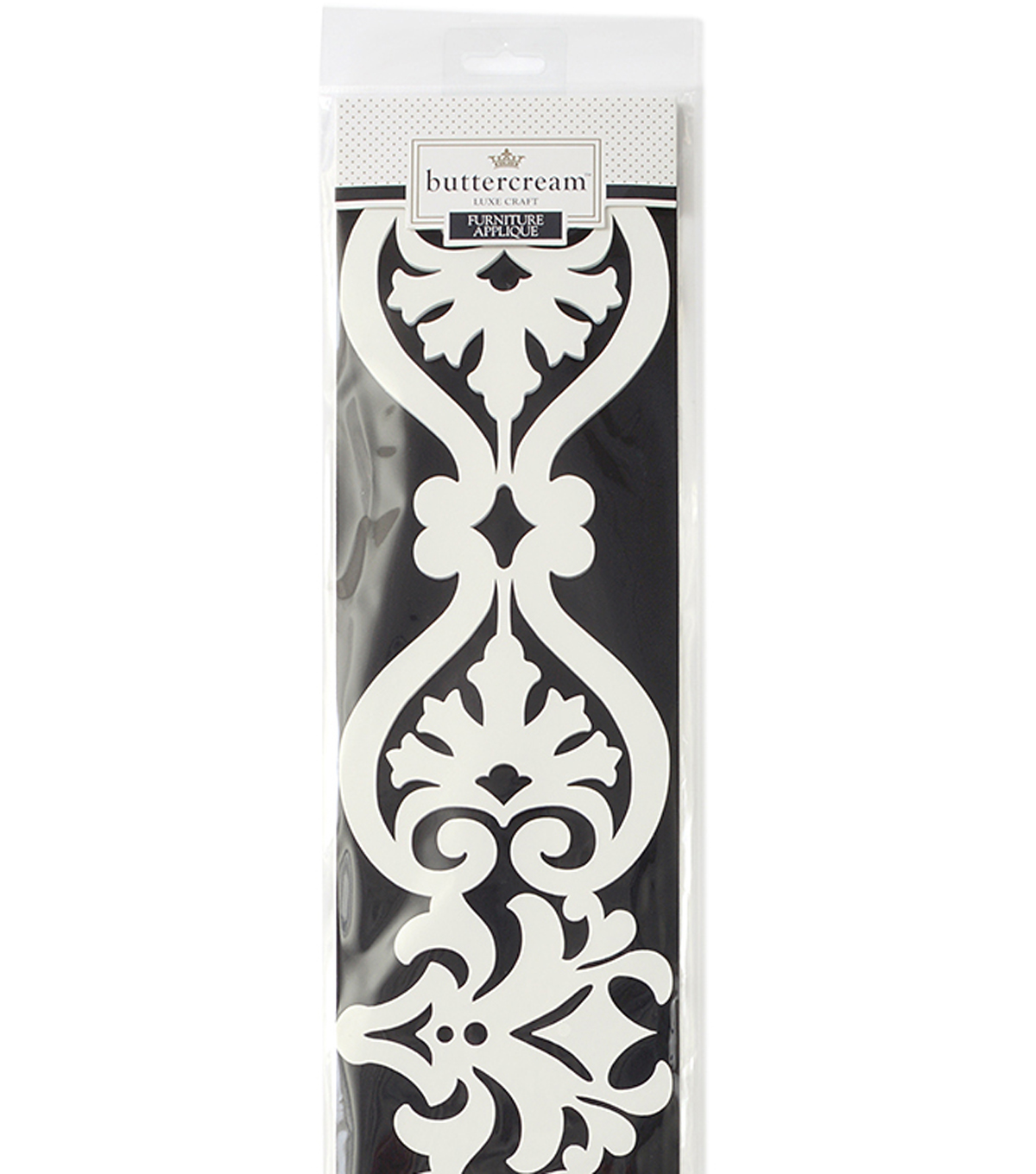 Buttercream™ Elizabeth Collection Long Furniture Applique-Fancy Flourish