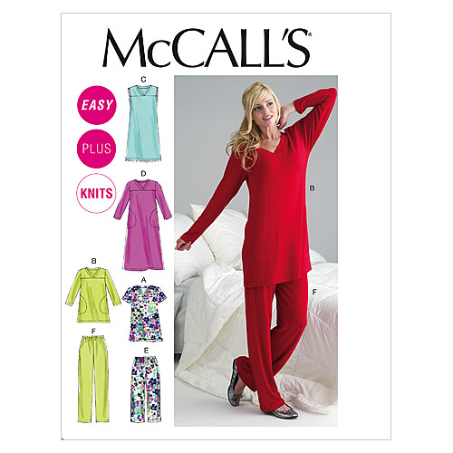 McCall\u0027s Women\u0027s Sleep & Lounge-M6474