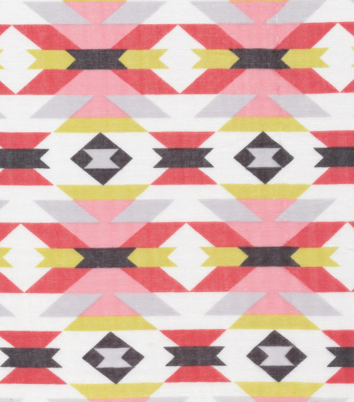 Cloud 9 Organic Cotton Double Gauze Fabric 44\u0022-Aztec Red
