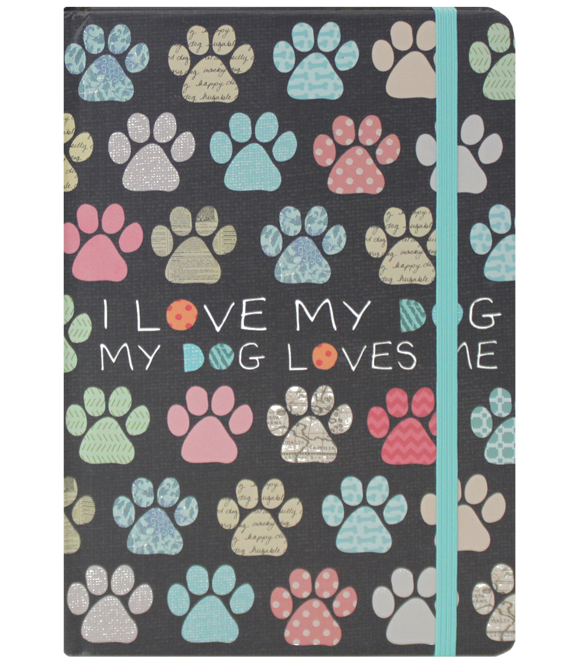 The 5 & Twine™ I Love My Dog Bound Journal