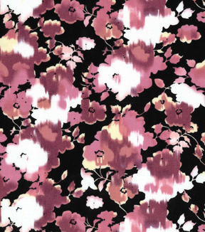 "Two Daughters™ Modern Florals Cotton Fabric 43""-Pink Washed Flowers"