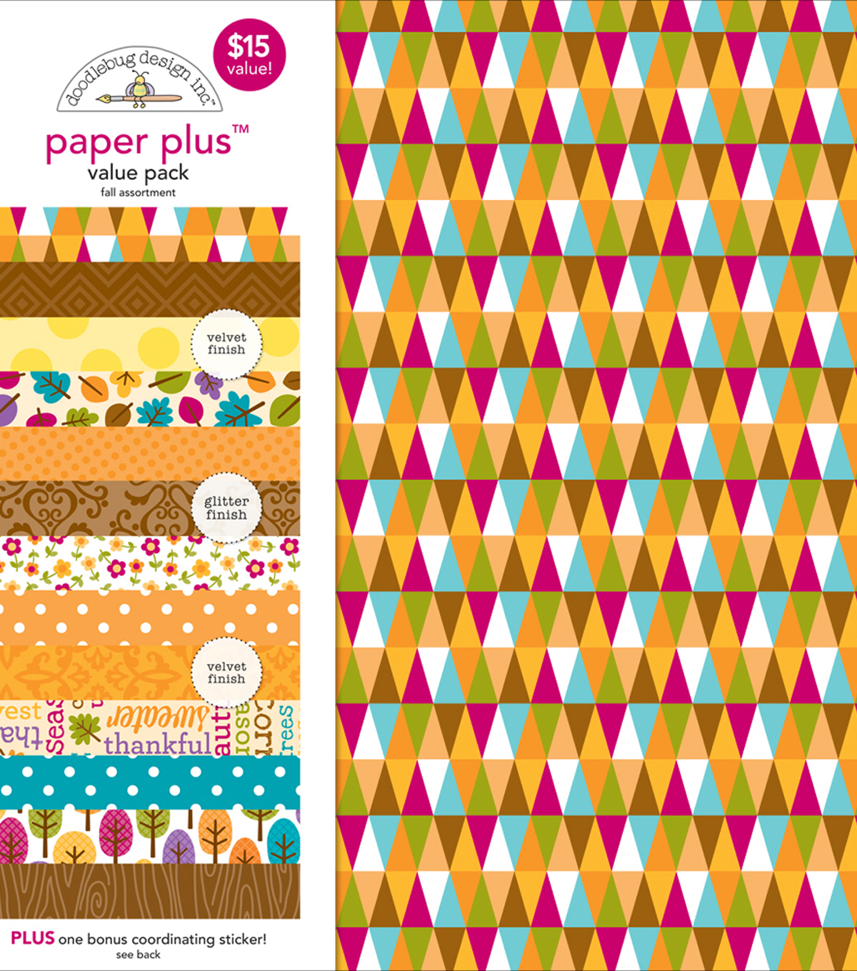 Fall -paper Plus Asst Pack
