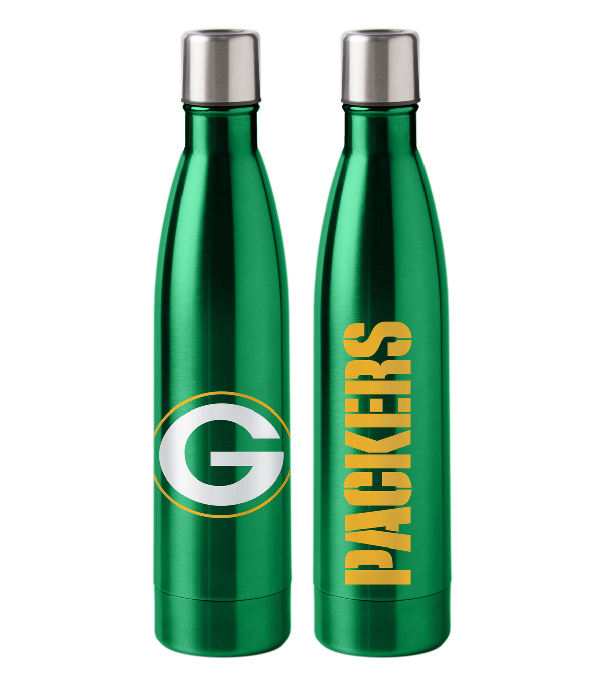 Green Bay Packers 18 oz Insulated Stainless Steel Water Bottle
