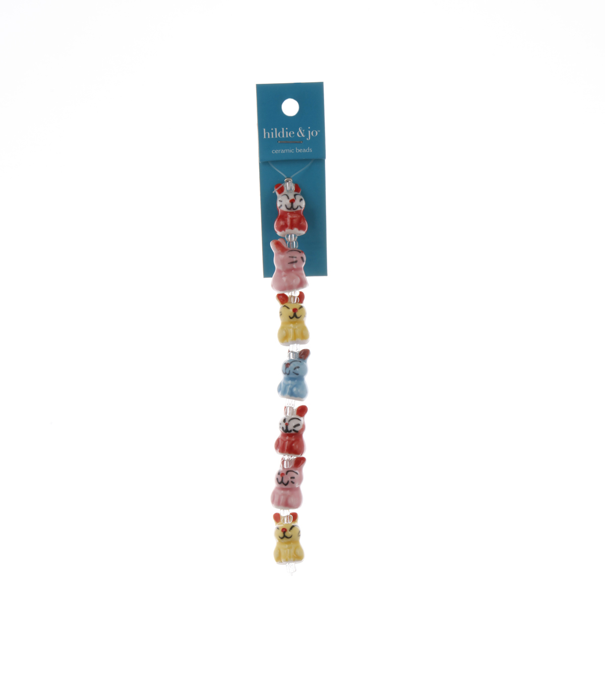 Bliss Beads Multi Ceramic Bunnies
