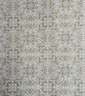 Buttercream™ Elizabeth Collection Cotton Fabric-Mirrored Leaves