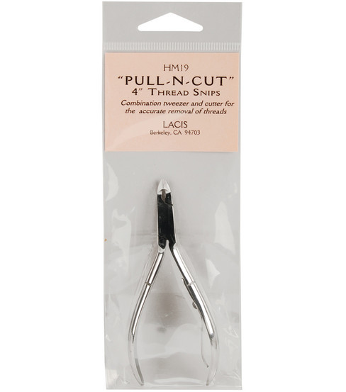 Lacis Pull-N-Cut Thread Snips 4\u0022-