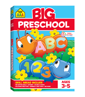 School Zone Big Workbook-Preschool