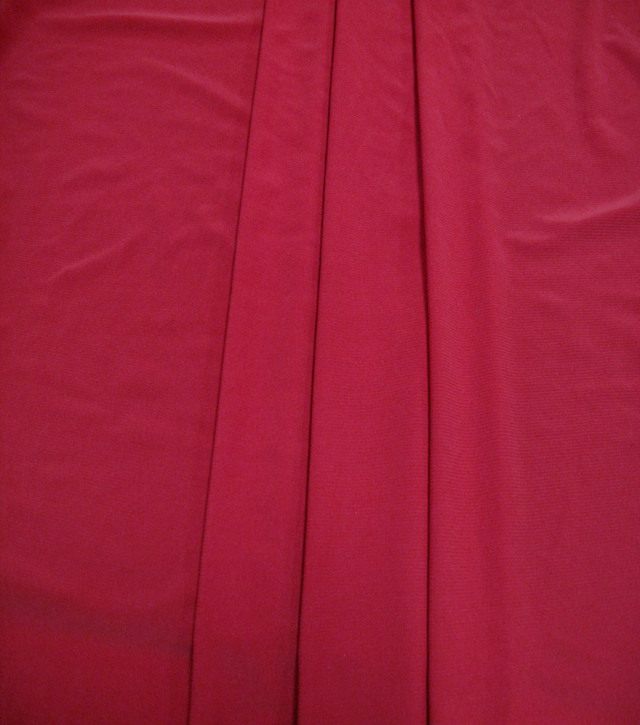 "Poly Spandex Knit Fabric 59""-Tango Red"