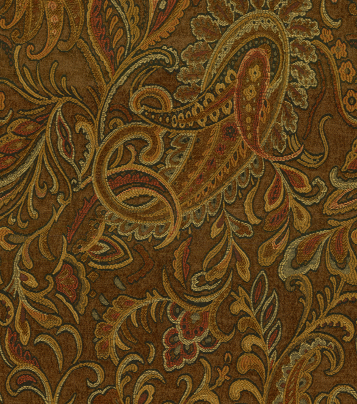 Richloom Studio Home Decor Print Fabric 54\u0022-Danegeld Chestnut