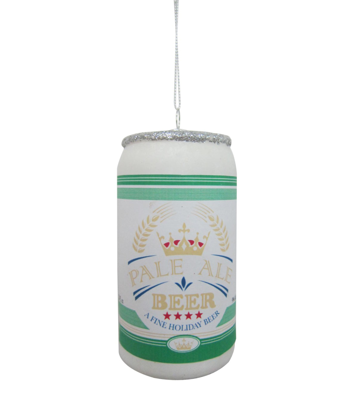Maker's Holiday Christmas Beer Can Ornament