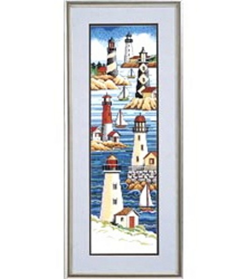 Janlynn Lighthouses Cntd X-Stitch Kit