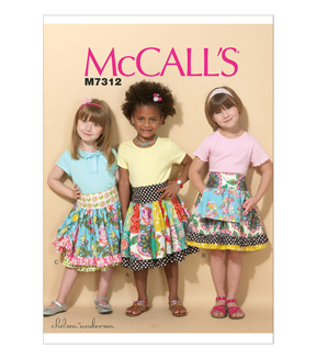 McCall\u0027s Girls Skirt-M7312