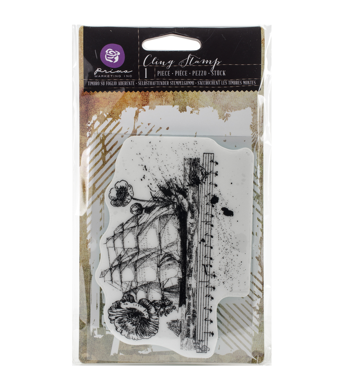 Prima Marketing Nautical Cling Stamp