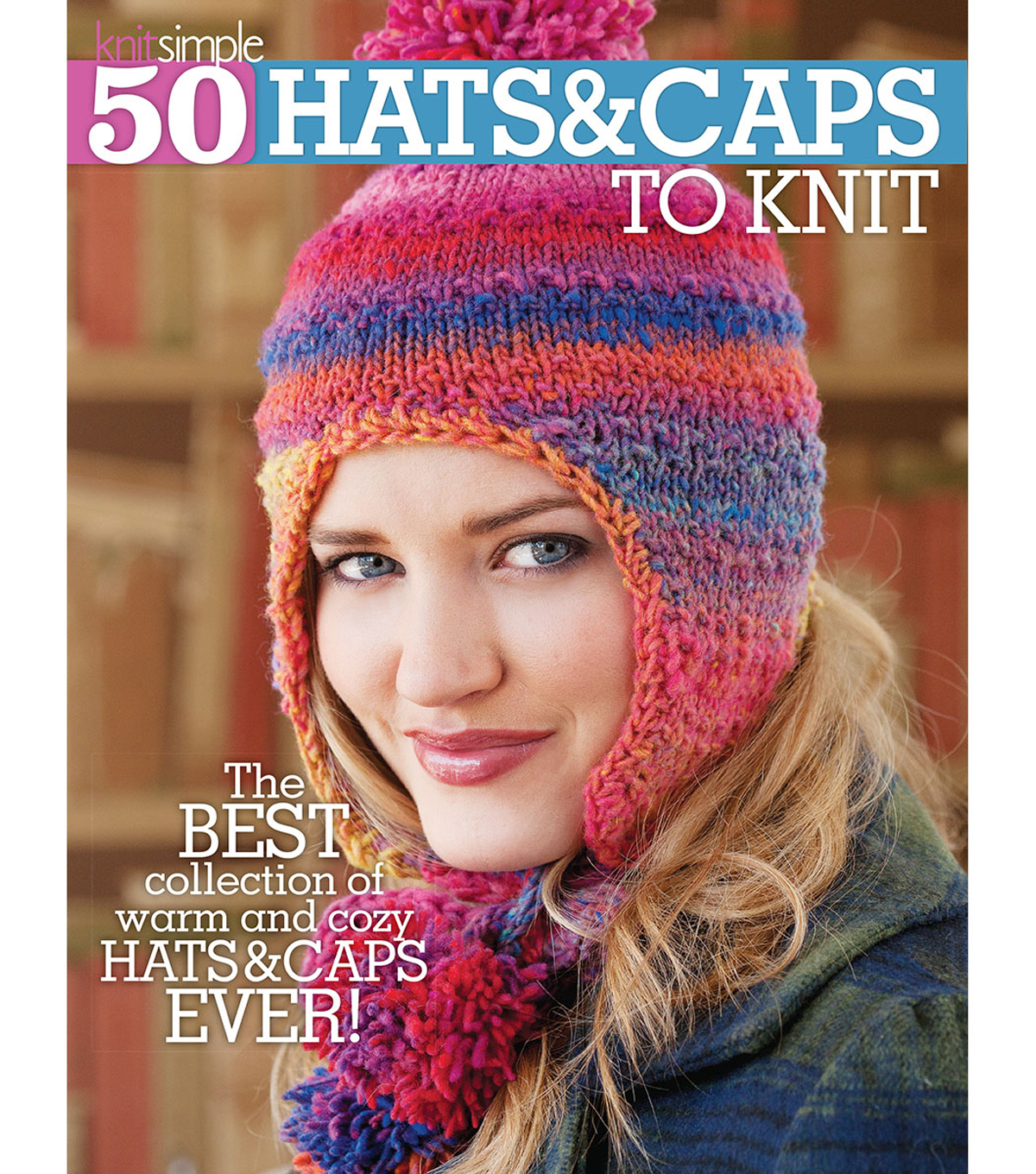 50 Hats & Caps To Knit Book