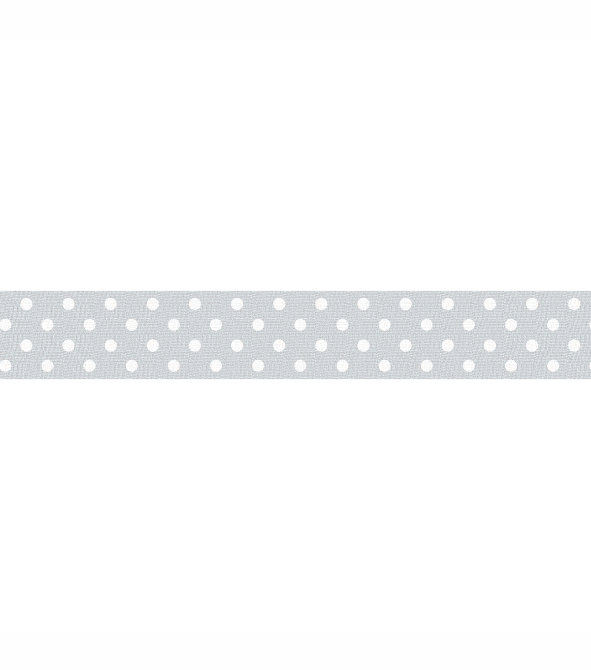 Washi Tape 15mm 12 Yards/Roll-Grey Swiss Dot