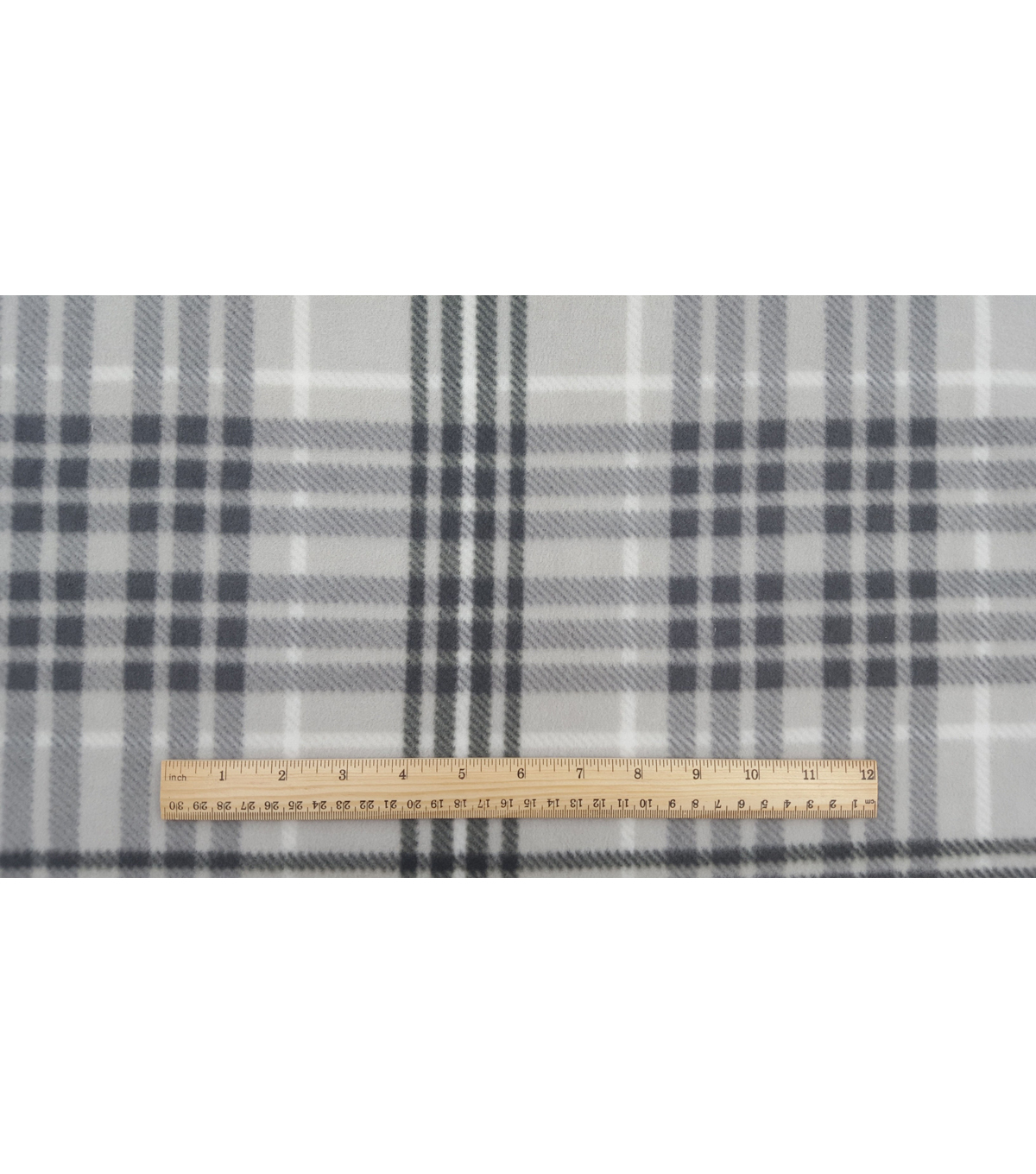 Anti-Pill Fleece Fabric 57\u0022-Wyatt Plaid