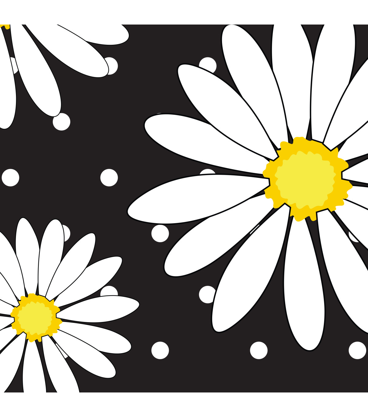Printed Duck Tape® Br& Duct Tape 1.88 in. x 10 yd.-Crazy Daisy