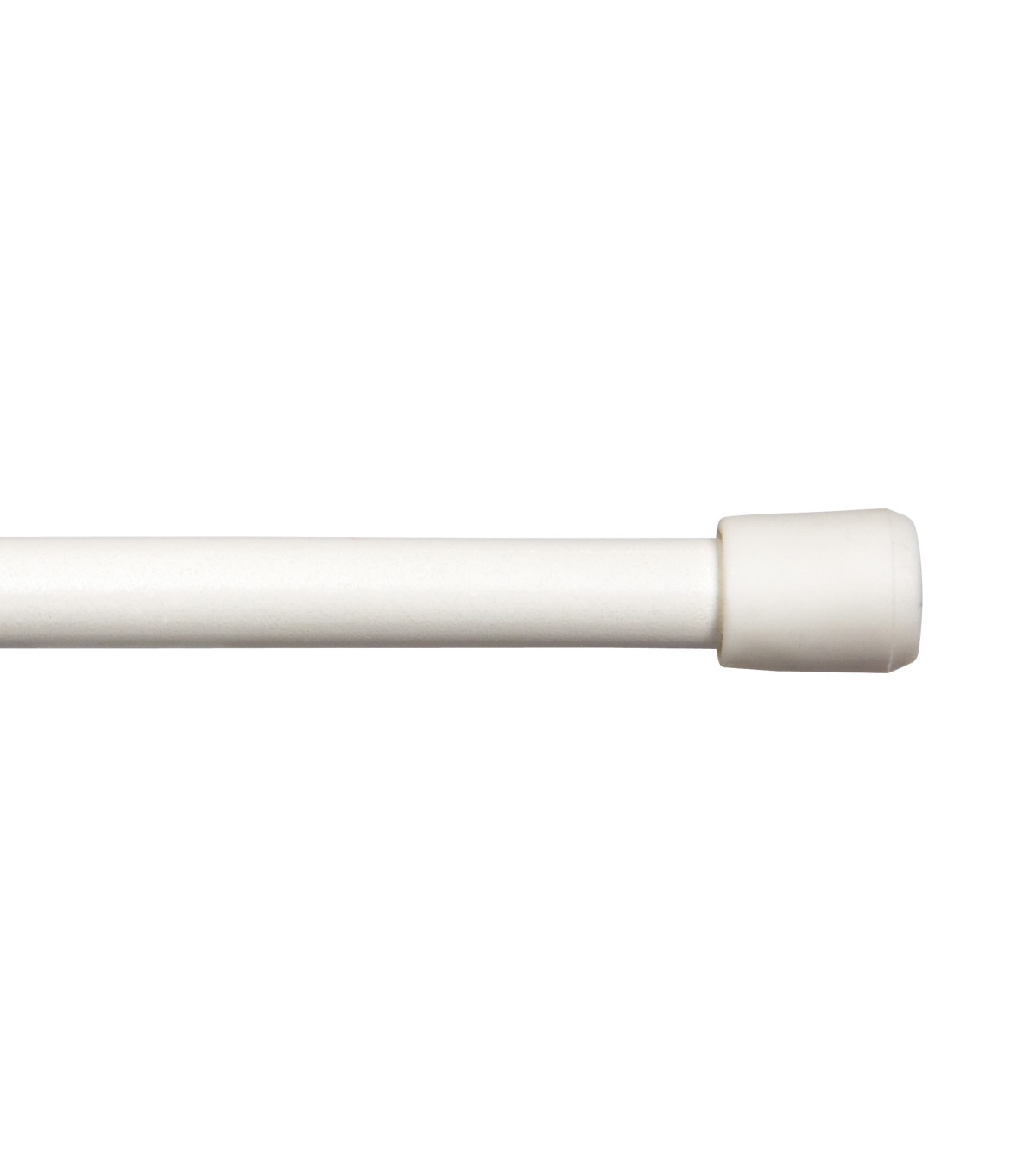 Kenney 28\u0022 to 48\u0022 Strafford Spring Tension Curtain Rod-White
