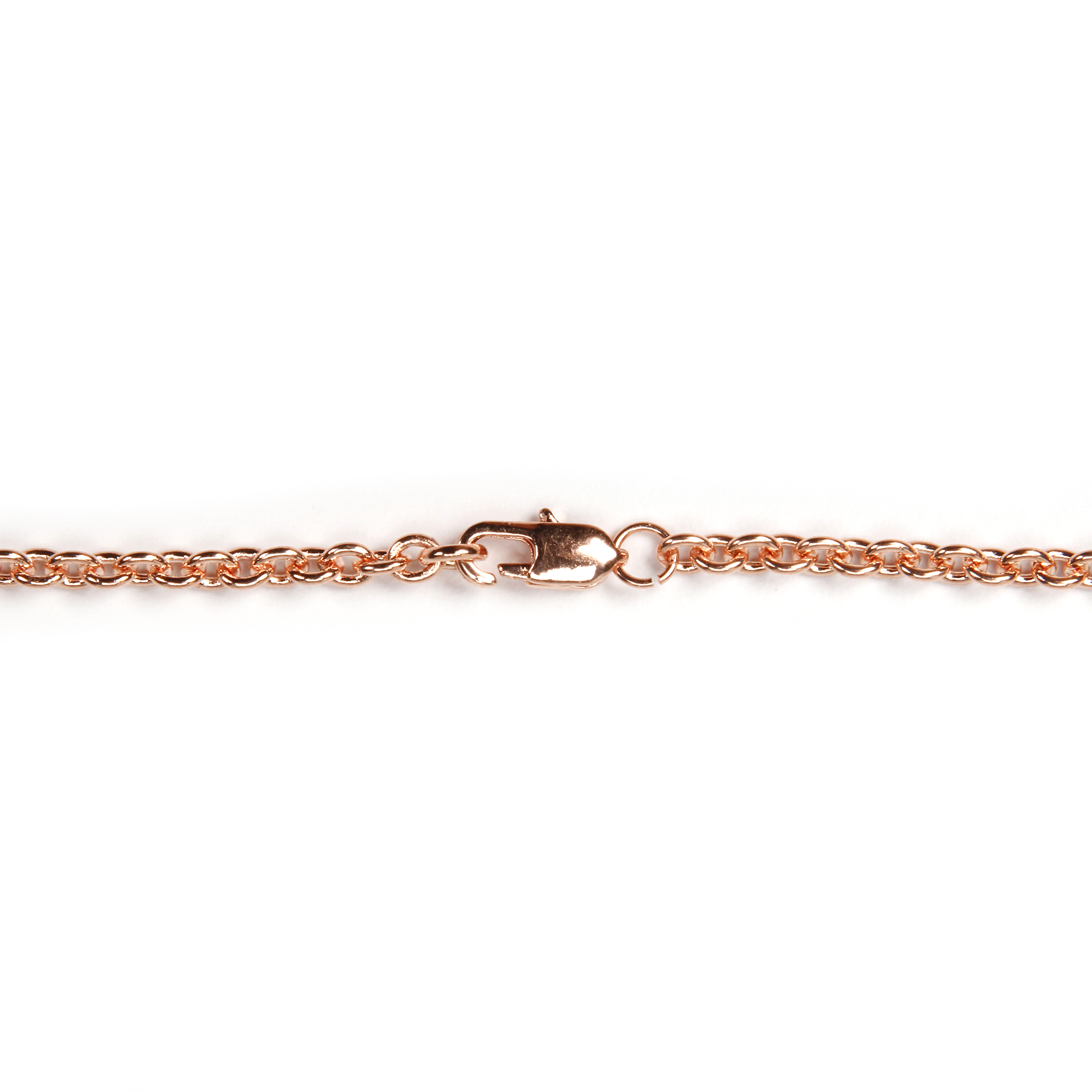 Cable Chain Rose Gold 2 X18in