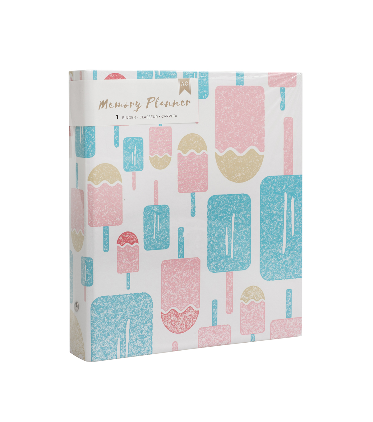 American Crafts Memory Planner Binder-Popsicles