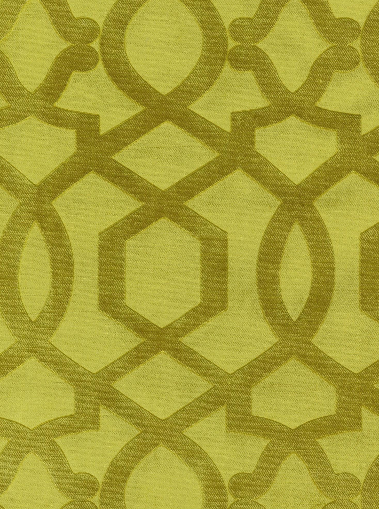 "Home Decor 8""x8"" Fabric Swatch-IMAN Home Sultana Velvet Citrine"
