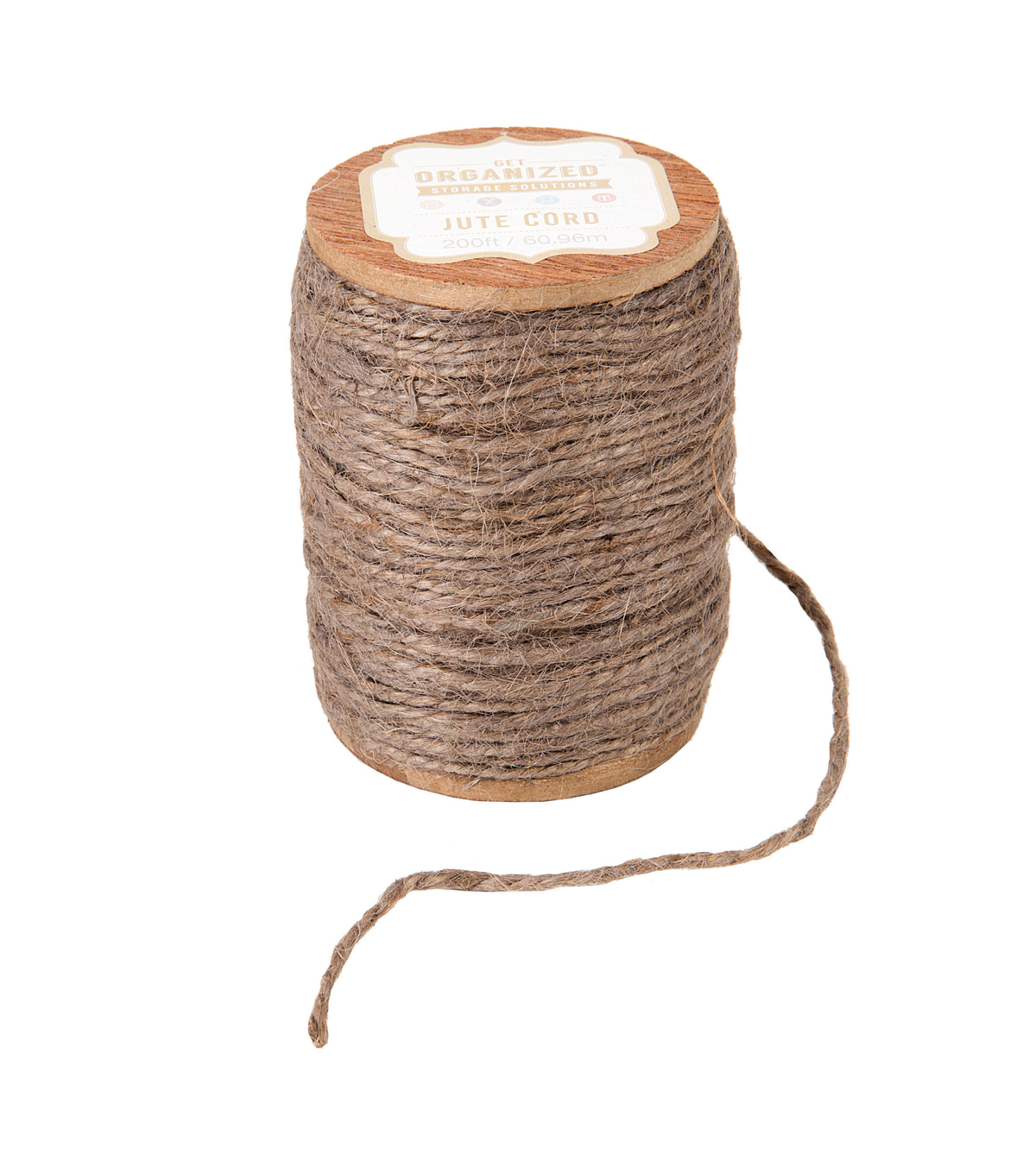 Jute Cord-Grey-200 yards