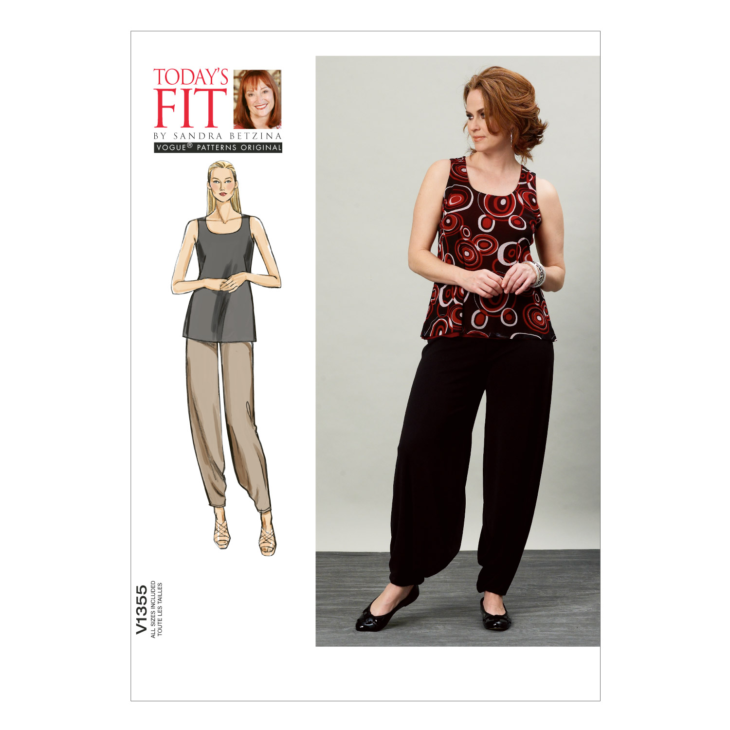 Vogue Patterns Misses Casual-V1355
