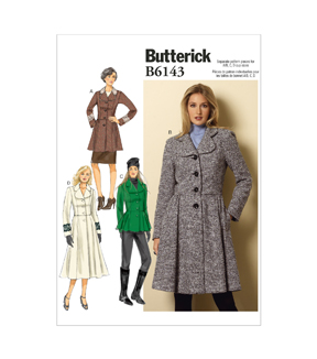 Butterick Pattern B6143-E50-Misses\u0027 Jacket& Coat-14-16-18-20-22