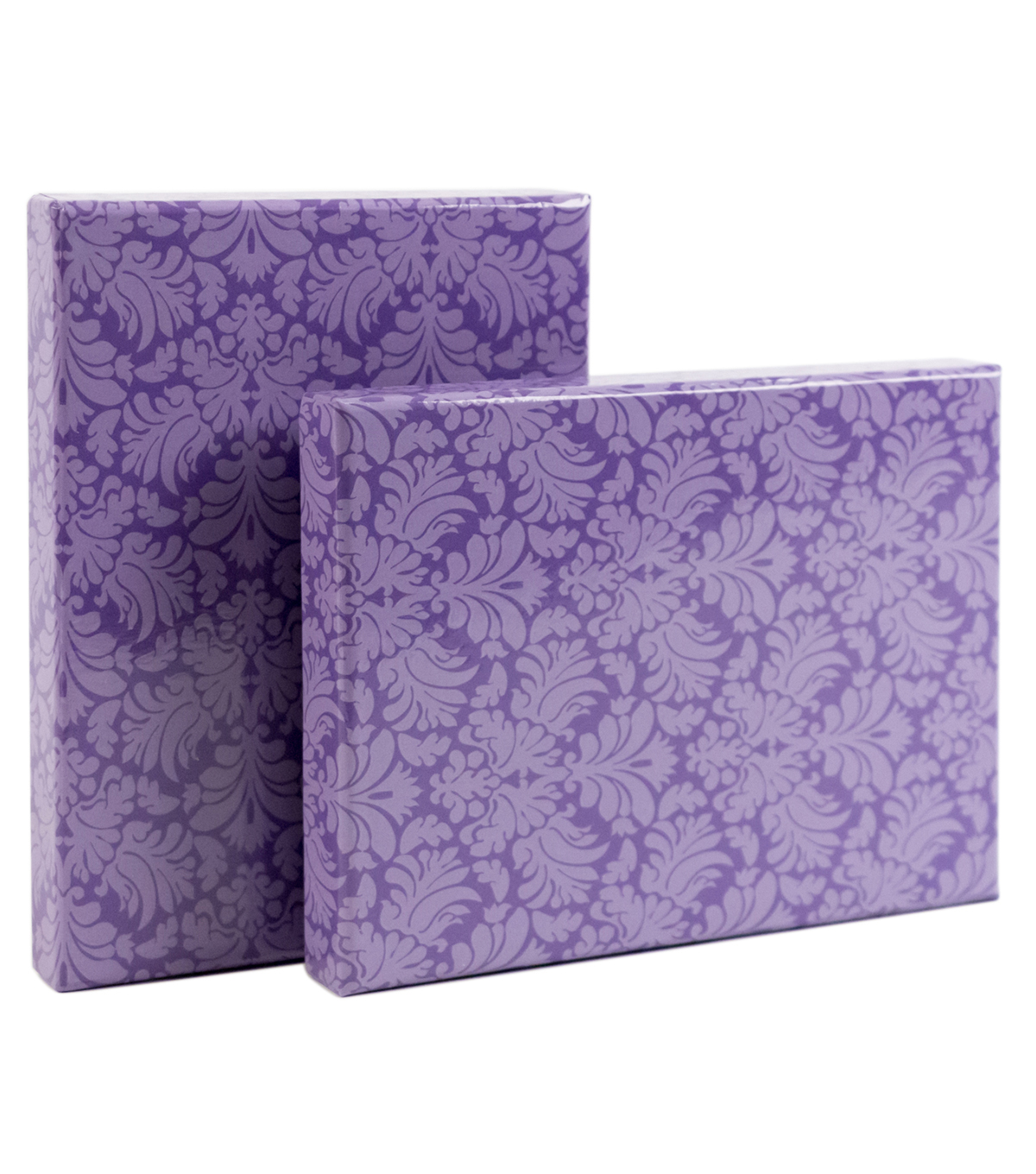 DCWV Designer Set of A6 Boxes: Purple